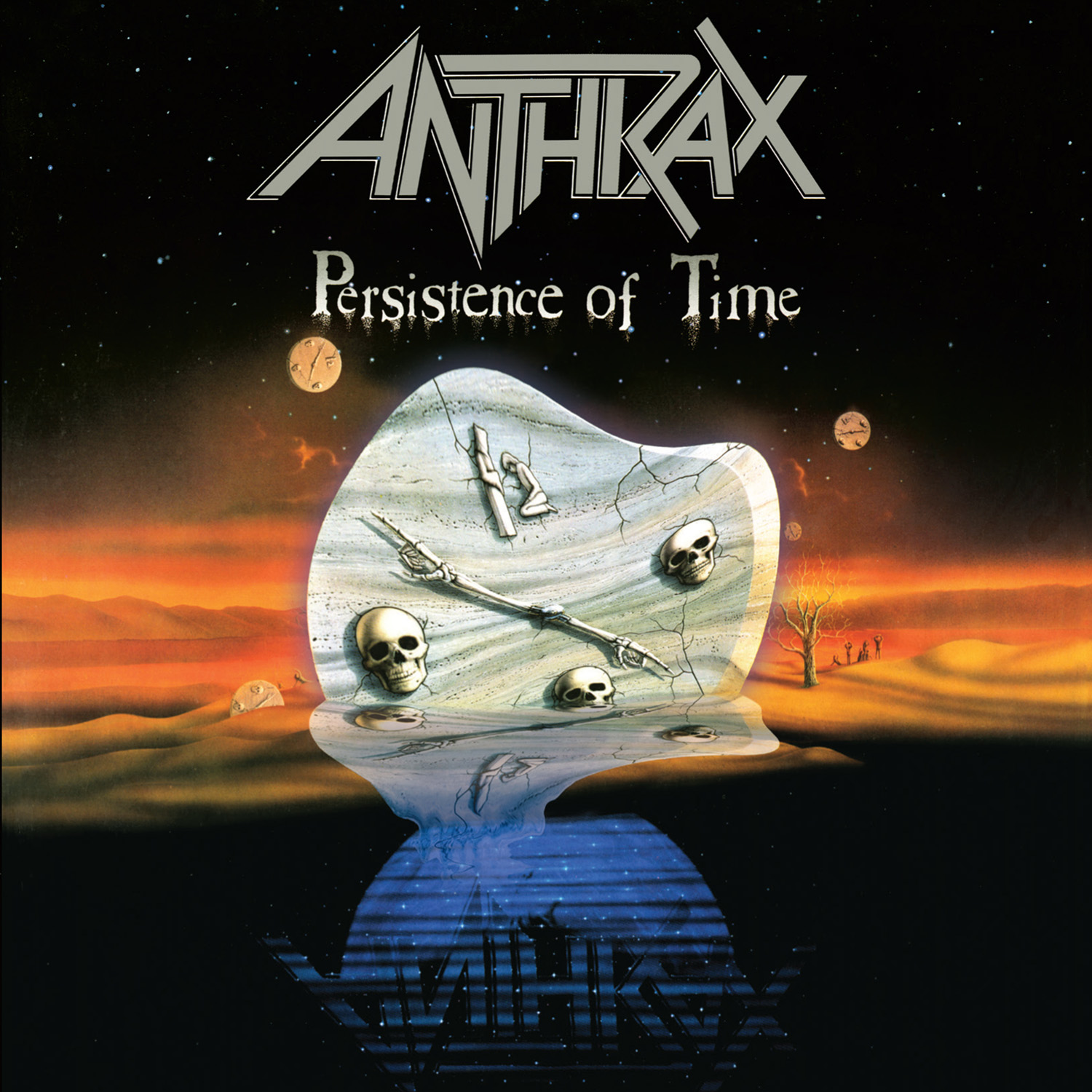 "Anthrax To Release Deluxe Remastered Version Of ""Persistence of Time"" On 8/21"