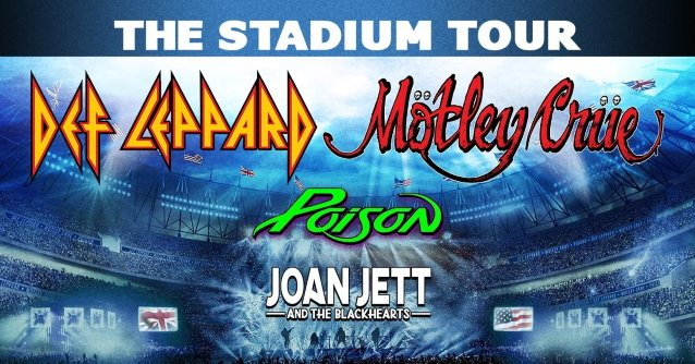 It's Official:  Motley Crue, Def Leppard & Poison Stadium Tour Postponed Until 2021