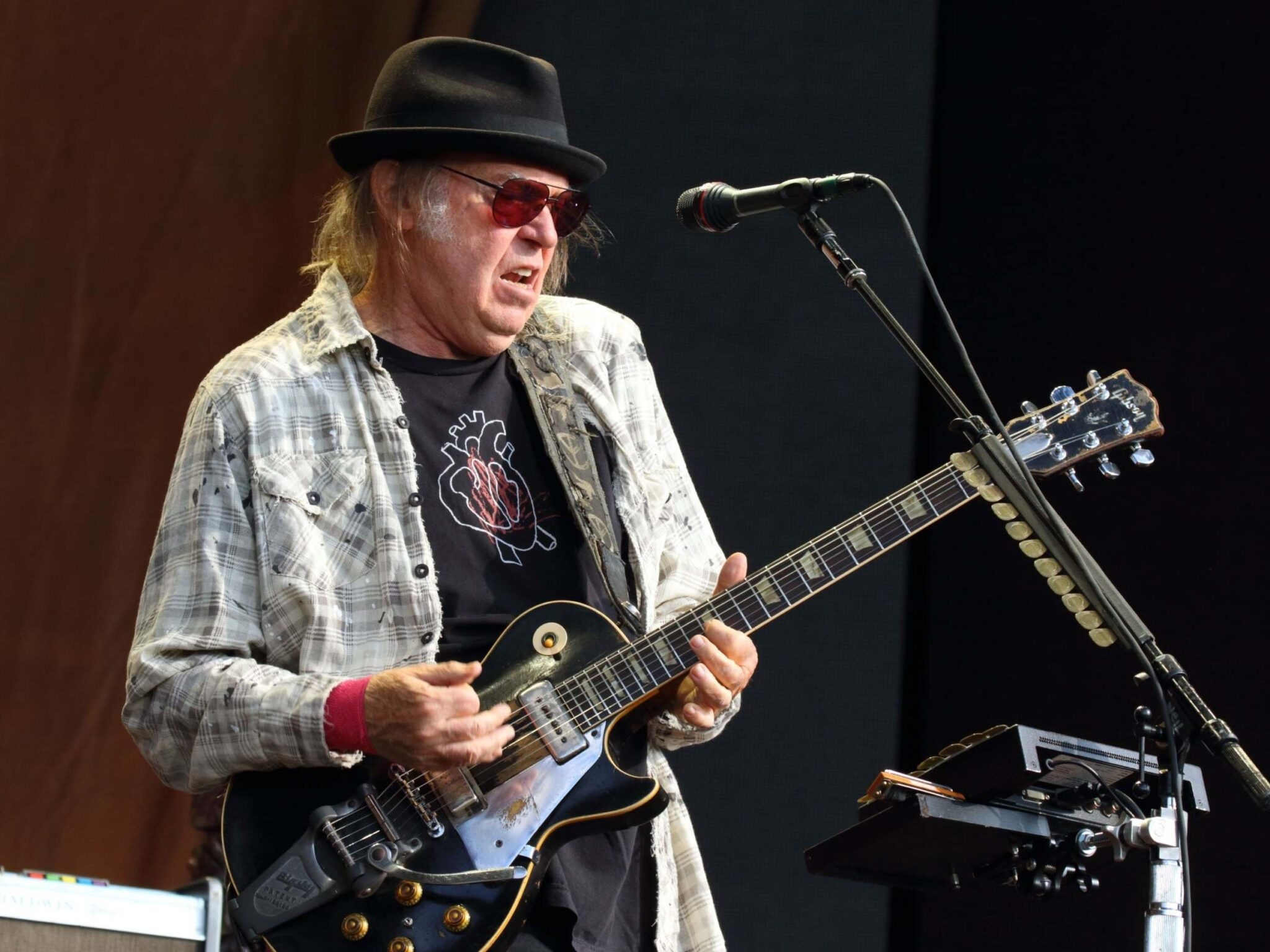 Neil Young Threatens Legal Action Against Donald Trump — Again