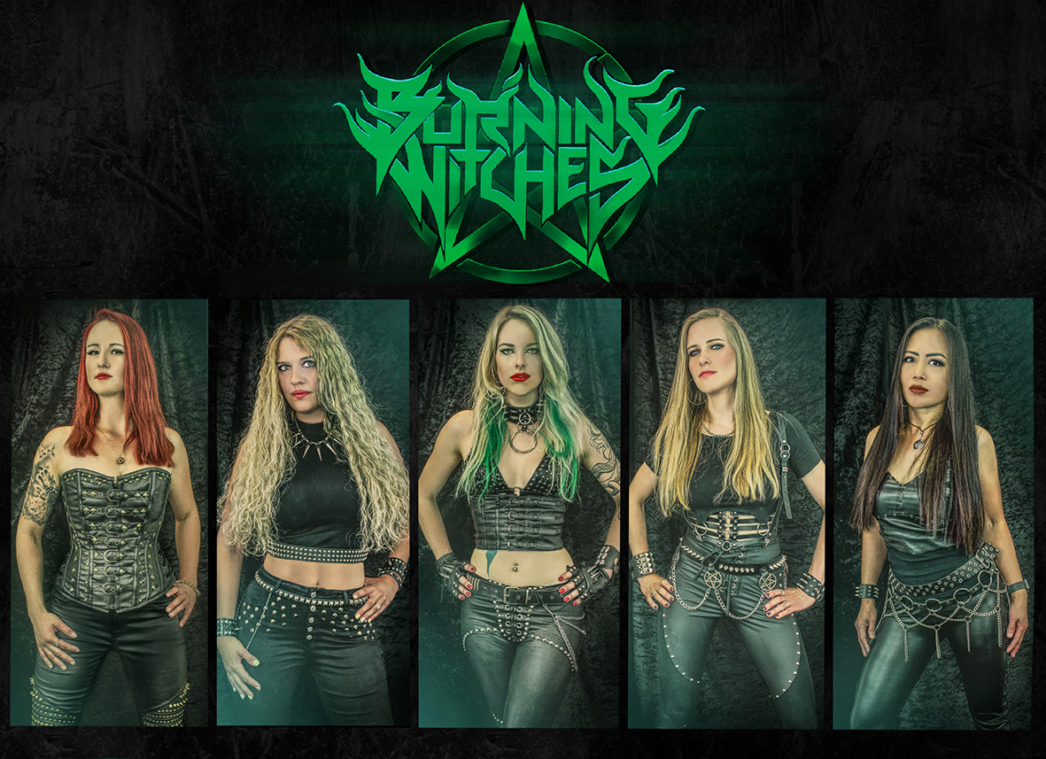 """Burning Witches Release New Single And Video """"Circle Of Five"""""""