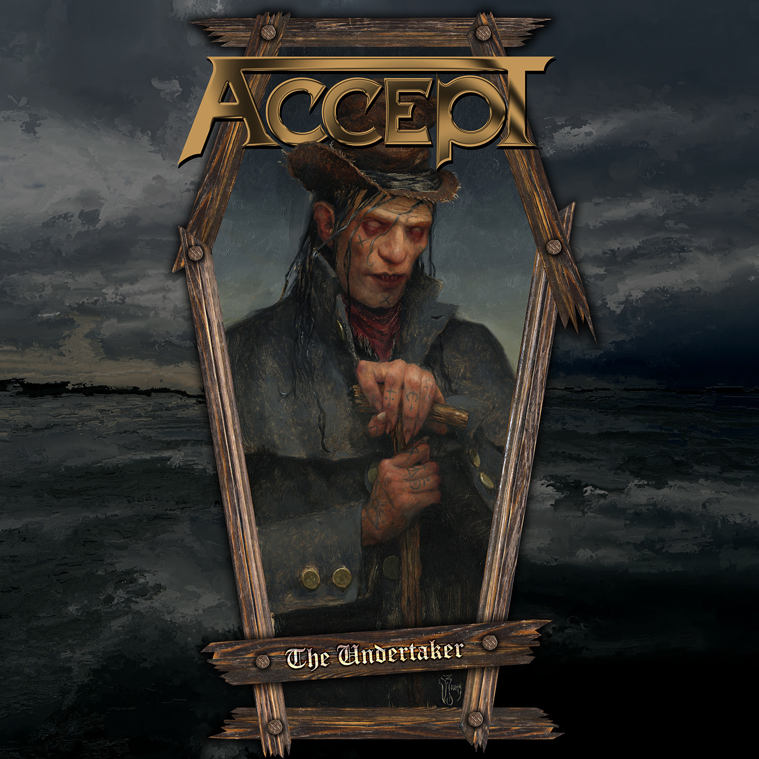 """Accept Release """"The Undertaker"""" From Their New Studio Album """"Too Mean To Die"""""""