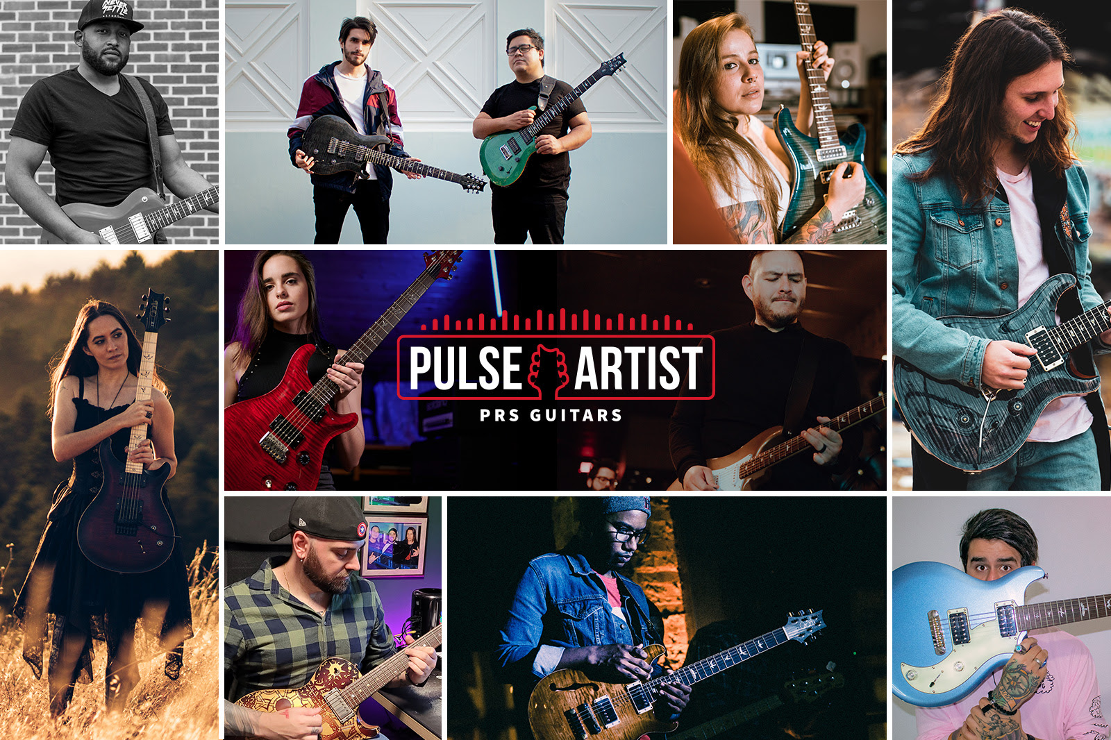 PRS Guitars Announces Official 2021 PRS Pulse Artist Roster