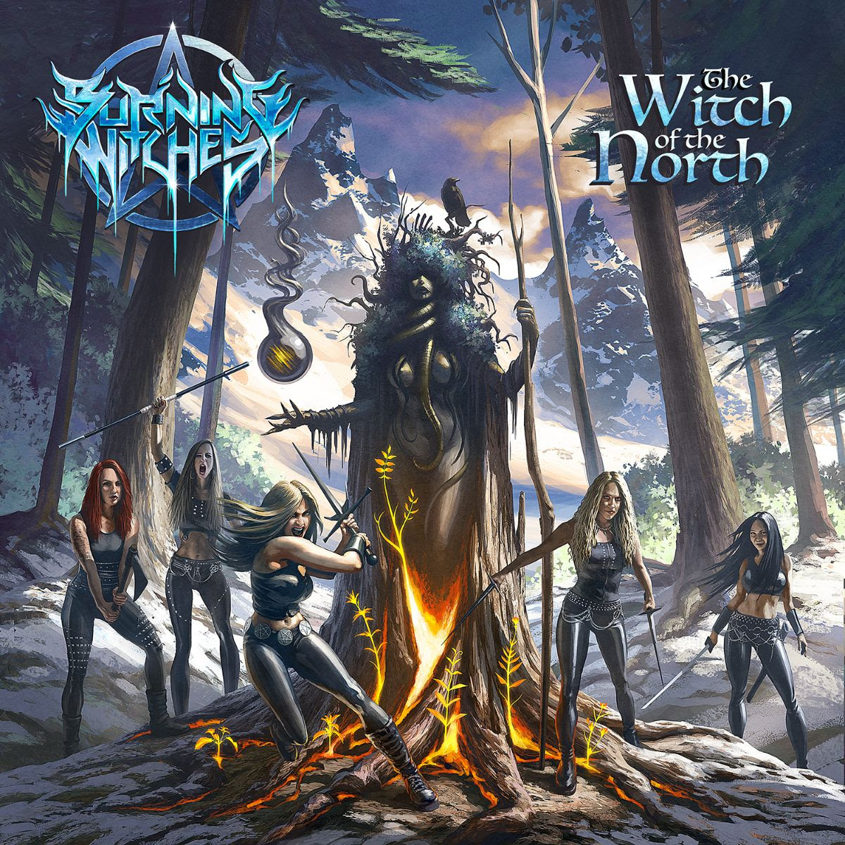 Burning Witches To Release New Album 'The Witch Of The North' On May 28th