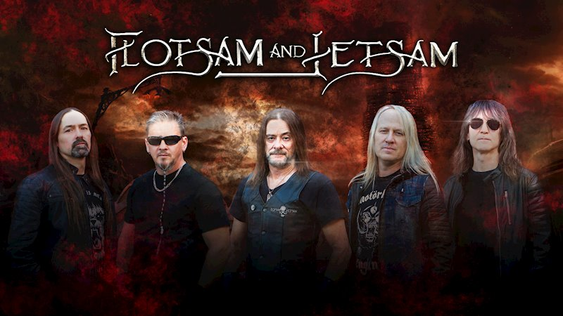 Flotsam And Jetsam Return With Another Great Album 'Blood In The Water'