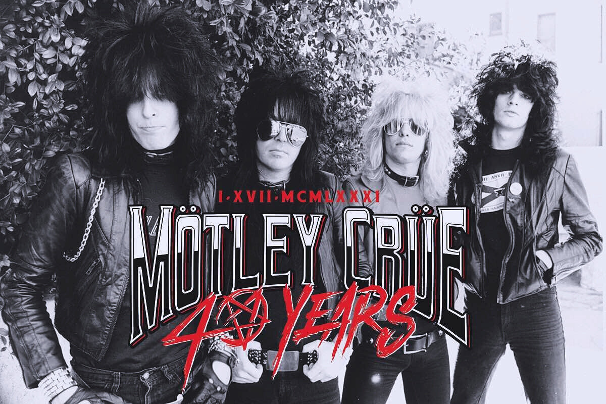 Mötley Crüe Announces 40th Anniversary / Dr Feelgood Digital Remaster Out 9/3