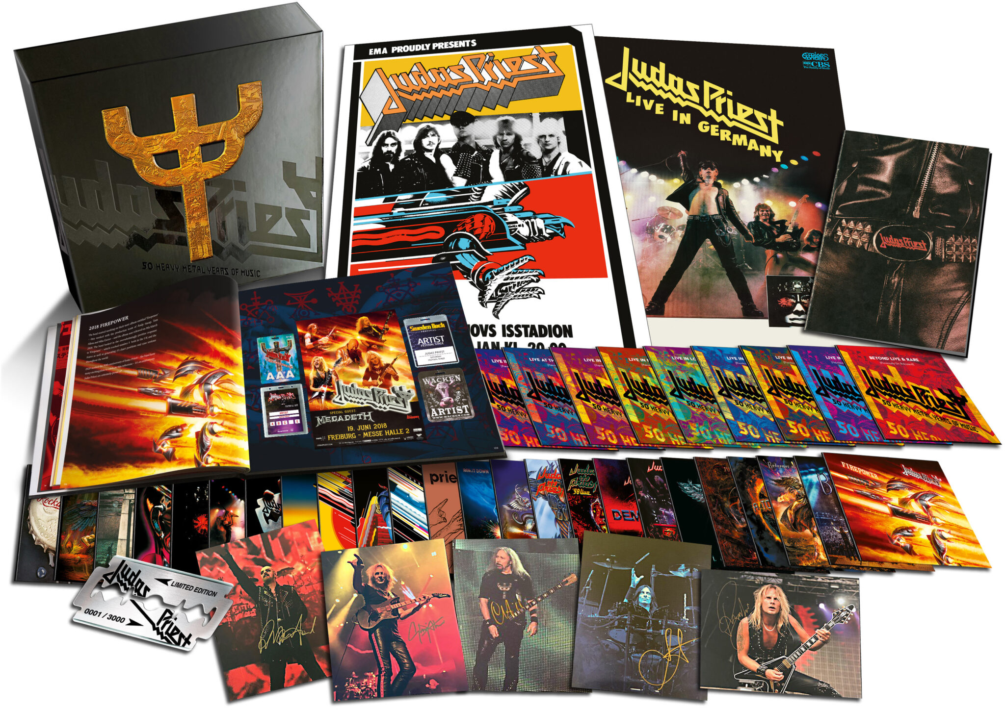 Judas Priest To Release 50 Heavy Metal Years Of Music Limited Box-Set