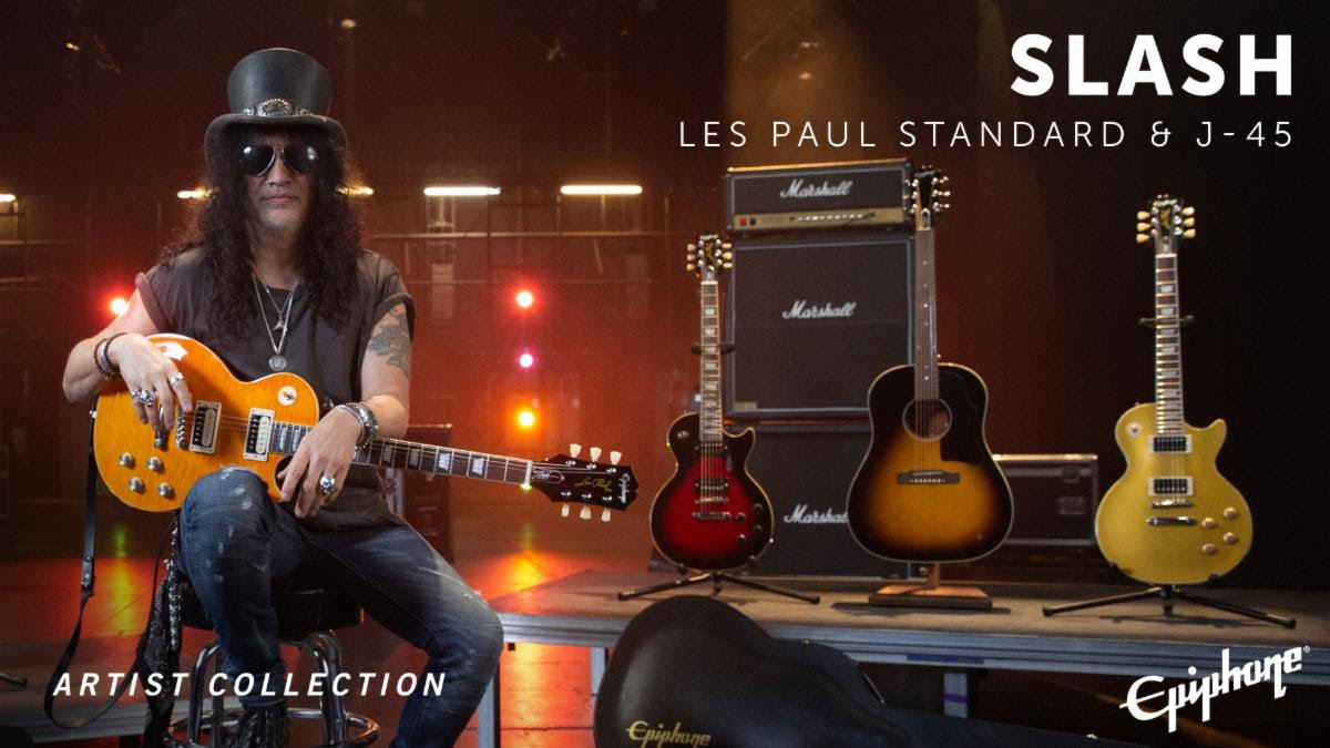 Epiphone Slash Collection Now Available Worldwide